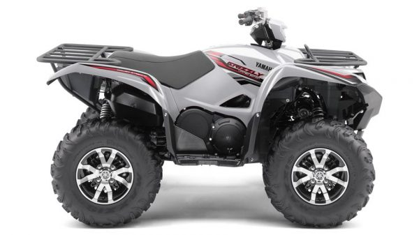 yamaha grizzly special edition light silver