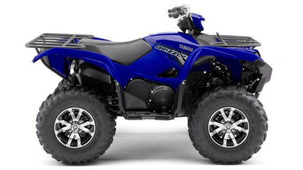Yamah grizzly 700 SE racing blue