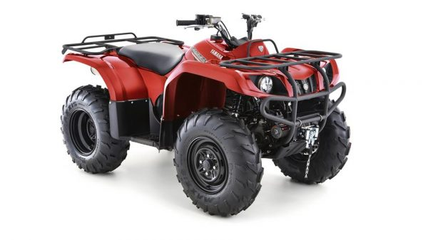 yamaha grizzly 350 4wd red