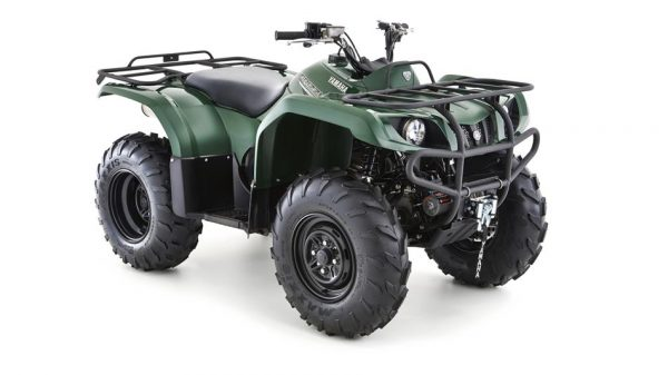 yamaha grizzly 350 2w groen