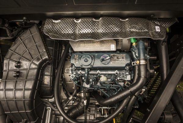 ranger diesel Kubota 3-cilinder Diesel